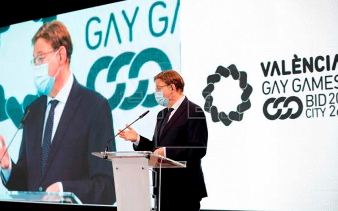 """Valencia quiere ser """"la luz de la diversidad"""" con candidatura a los Gay Games"""