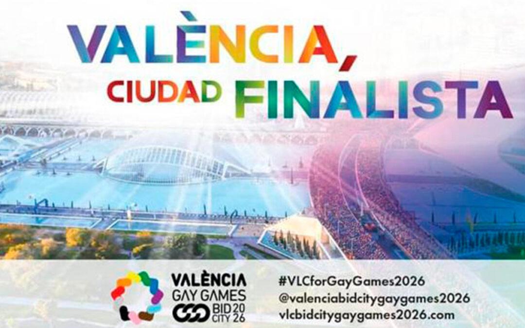 Valencia, finalista para acoger los Gay Games en 2026