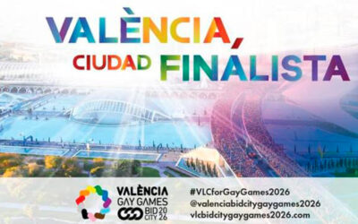 Valencia, finalist to host the Gay Games in 2026